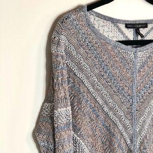 Banana Republic | Boat Neck Sweater metallic threa